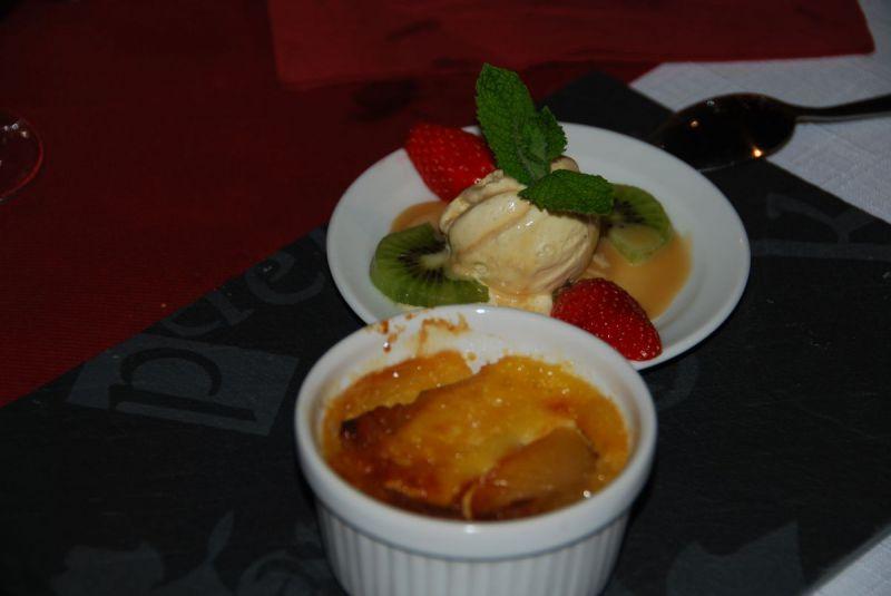 Dessert aux fruits de saison