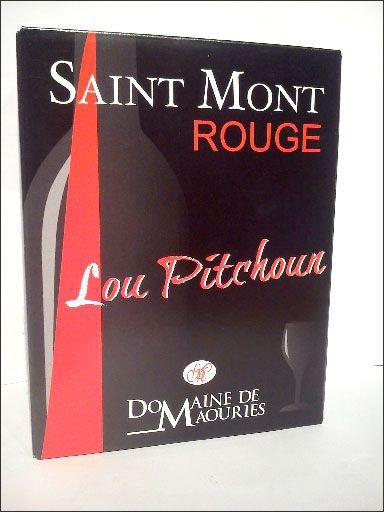 Lou Pitchoun, vin de Saint-Mont du domaine de Maouries en bag in box